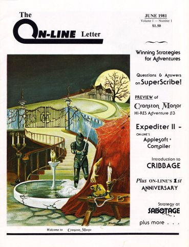 The On-Line Letter Vol.1 No.1 June 1981