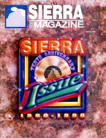 Sierra News Magazine Vol.3 No.2 Summer 1990