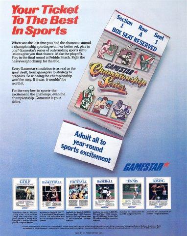 Gamestar sports