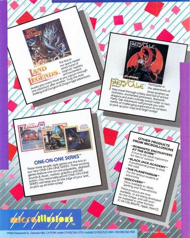 Faery Tale Adventure, Land of Legends, Turbo, Fire Power, Galactic Invasion (b)