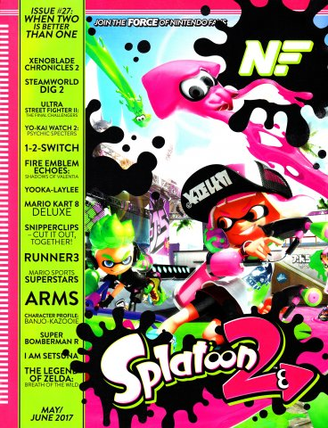 Nintendo Force Issue 027 May/June 2017