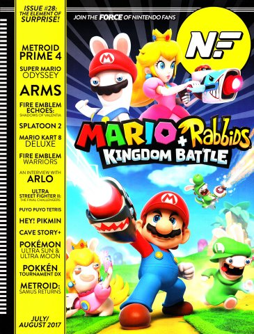 Nintendo Force Issue 28 July/August 2017