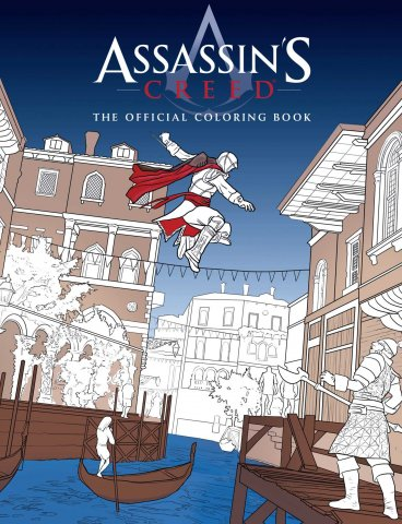 Assassin's Creed - The Official Coloring Book