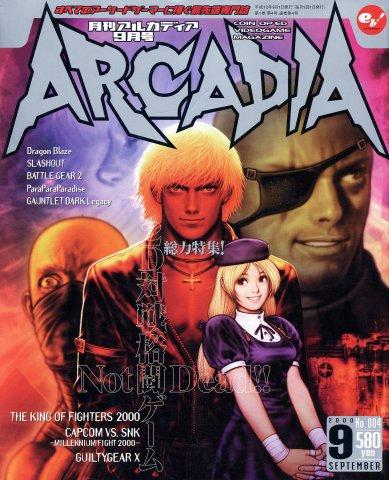Arcadia Issue 004 (September 2000)
