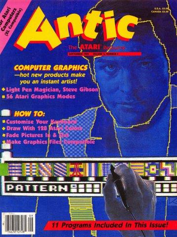 Antic Issue 023 September 1984