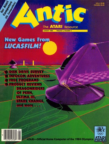 Antic Issue 022 August 1984