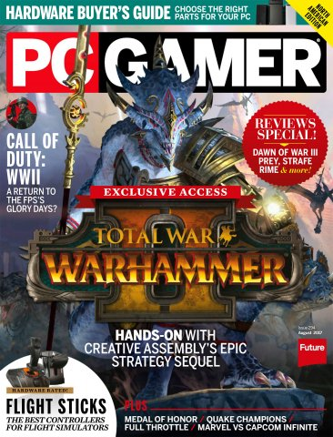 PC Gamer Issue 294 August 2017