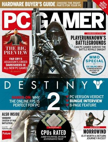 PC Gamer Issue 295 September 2017