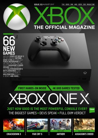 XBOX The Official Magazine Issue 153 August 2017