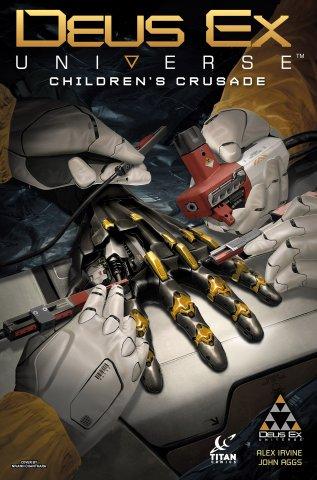 Deus Ex Universe - Children's Crusade 05 (July 2016) (cover b)