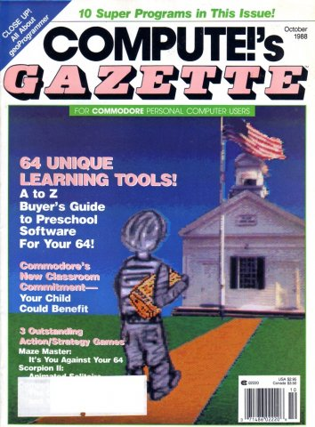 Compute!'s Gazette For Commodore Personal Computer Users