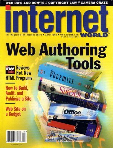 Internet World Vol. 07 No. 04 April 1996