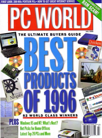 PC World Vol. 14 No. 07 (July 1996)