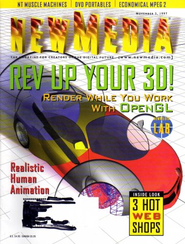 New Media Vol. 07 No. 13 (November 03, 1997)