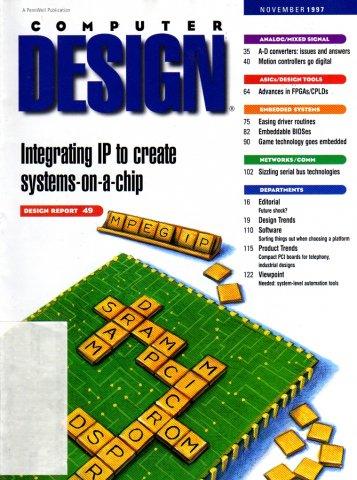 Computer Design Vol. 36 No. 11 (November 1997)