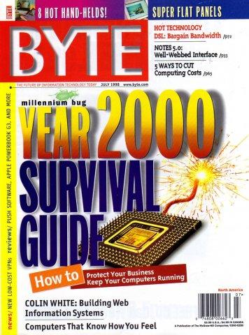 Byte Vol. 23 No. 07 (July 1998)