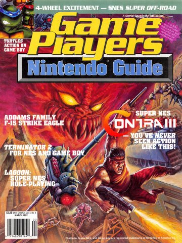 Game Players Nintendo Guide Vol.5 No.03 (March 1992)