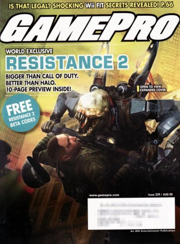 GamePro Issue 239 August 2008