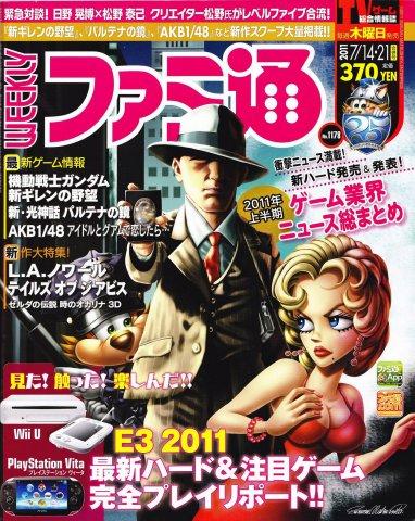 Famitsu 1178 (July 14/21, 2011)