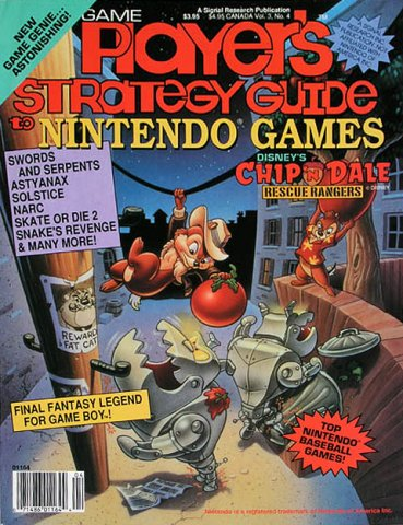 Game Player's Strategy Guide to Nintendo Games Vol.3 No.4 (August/September 1990)