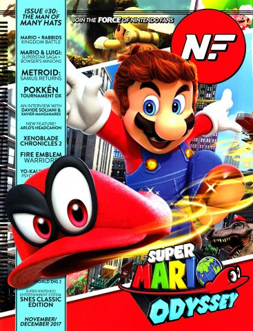 Nintendo Force Issue 030 November/December 2017