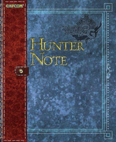 Monster Hunter 3G - Hunter Note