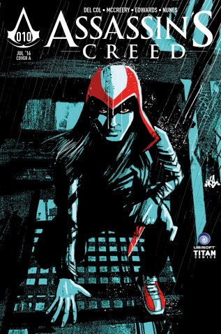 Assassin's Creed 010 (cover a) (July 2016)