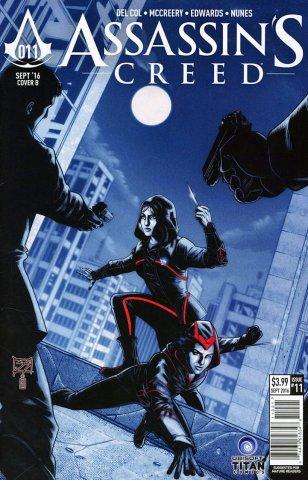 Assassin's Creed 011 (cover b) (September 2016)