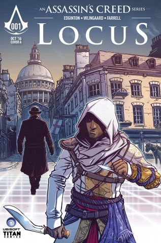Assassin's Creed: Locus 01 (cover a) (October 2016)