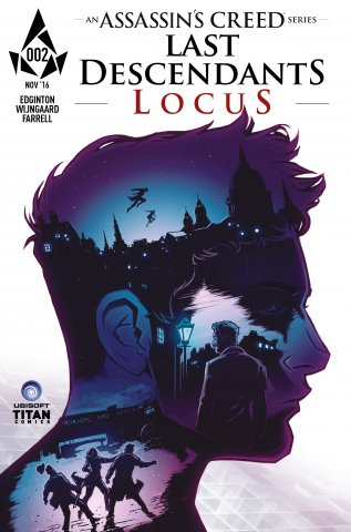 Assassin's Creed: Locus 02 (cover a) (November 2016)