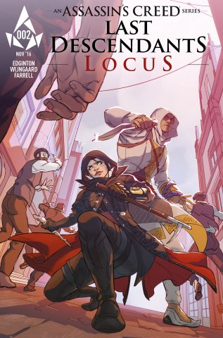 Assassin's Creed: Locus 02 (cover b) (November 2016)