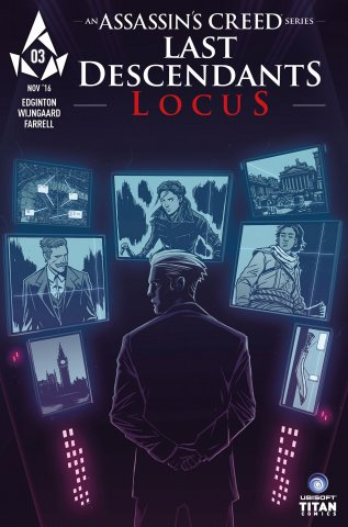 Assassin's Creed: Locus 03 (cover a) (December 2016)