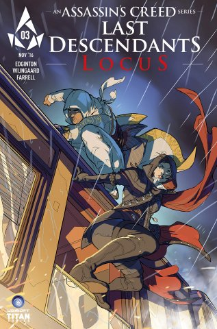 Assassin's Creed: Locus 03 (cover c) (December 2016)