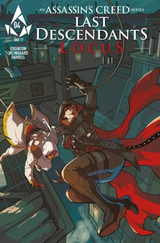 Assassin's Creed: Locus 04 (cover b) (January 2017)
