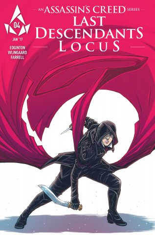 Assassin's Creed: Locus 04 (cover a) (January 2017)