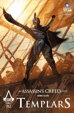 Assassin's Creed: Templars 08 (cover a) (January 2017)
