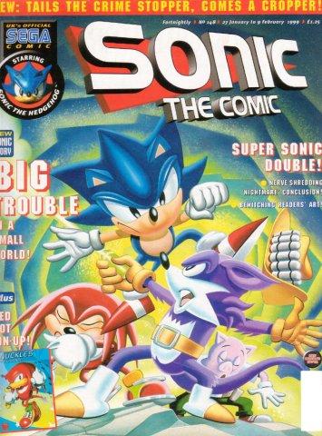 Sonic the Comic 148 (January 27, 1999)
