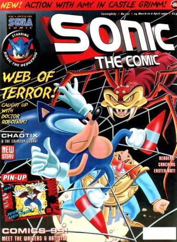 Sonic the Comic 152 (March 24, 1999)