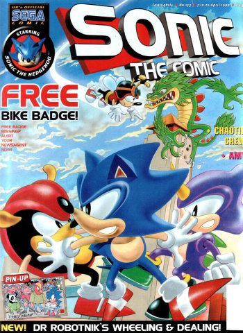 Sonic the Comic 153 (April 7, 1999)