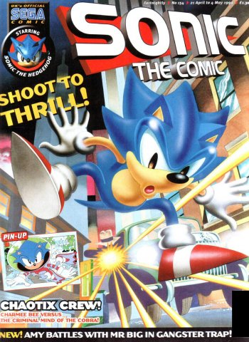 Sonic the Comic 154 (April 21, 1999)
