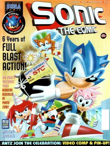 Sonic the Comic 157 (June 2, 1999)
