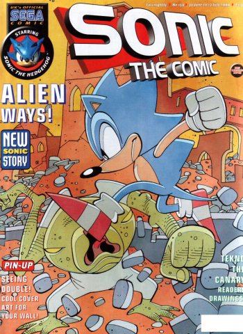 Sonic the Comic 159 (June 30, 1999)