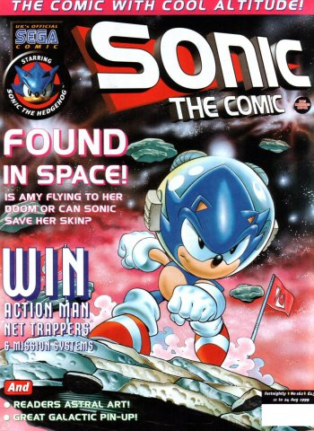 Sonic the Comic 162 (August 11, 1999)