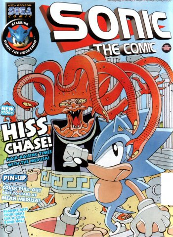 Sonic the Comic 163 (August 25, 1999)