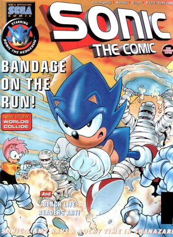 Sonic the Comic 164 (September 8, 1999)