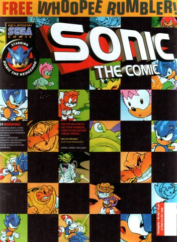 Sonic the Comic 165 (September 22, 1999)