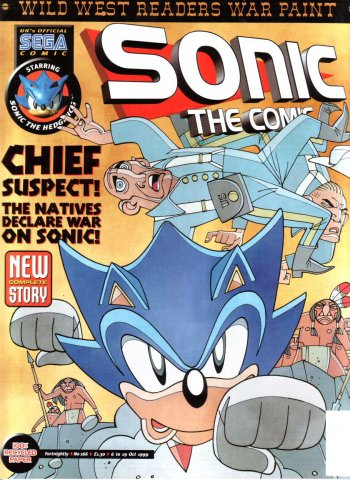 Sonic the Comic 166 (October 6, 1999)