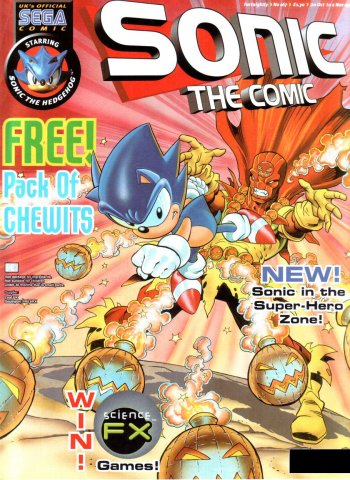 Sonic the Comic 167 (October 20, 1999)