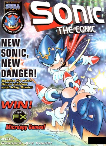 Sonic the Comic 168 (November 3, 1999)