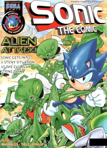 Sonic the Comic 173 (January 26, 2000)